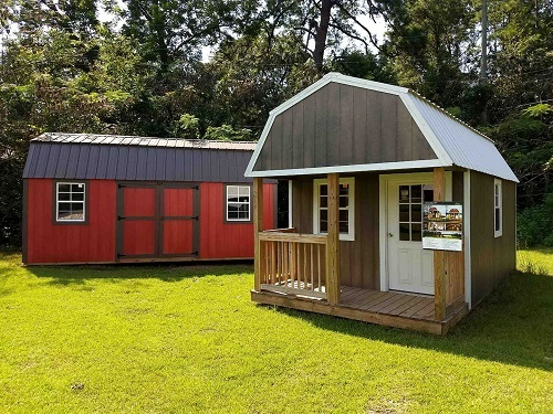 $90/Mo Rent to Own Sheds Barns Cabins Carports Marianna, FL